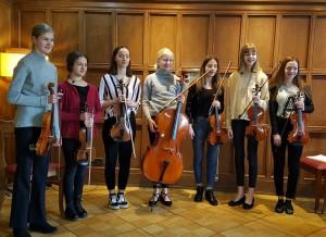Violinstudio Fidelissimo, Konzertreise Berlin 1.2020